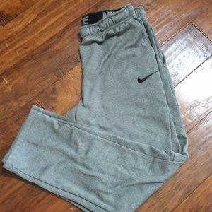 Men's Nike dri fit sweatpants